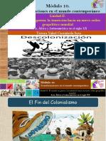 Asia, África y Latinoamérica en El Siglo XX/Módulo 10