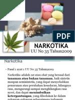 12. Undang-Undang Narkotika