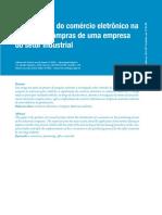 Implantacao Do Comercio Eletronico Na Funcao de Compras de Uma Empresa Do Setor Industrial