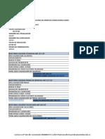 Formato Para Elaborar Liquidacion Laboral