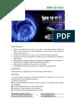 DMX 3D Tube Datasheet.
