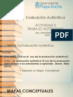 ACTIVIDAD 2 Evaluación Auténtica