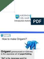 Lesson 2 - Origami