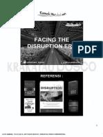 Managing Change - Facing Disruption Era
