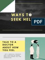 Ways to Seek Help Poster