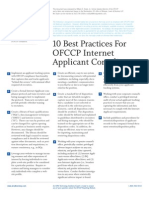 10 Best Practices for OFCCP Internet_applicant_practices