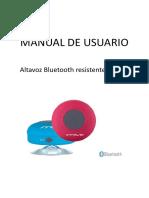 Instrucciones Altavoz Innova Alt13 944863