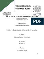 Práctica 1. Determinació Del Contenido de Humedad - Copia