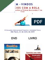 Pilates Bola Suiça