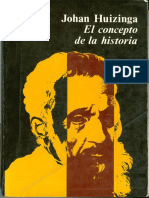 J. Huizinga-El Concepto de La Historia (Completo)