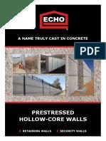 Echo Brochure