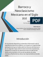 Arquitectura Barroca en Mexico
