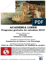 Academia Libre 2018