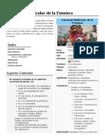 Carnaval Multicolor de La Frontera