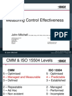 Measuring Control Effectiveness - John Mitchell
