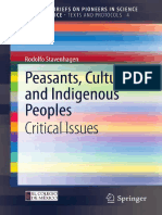 (SpringerBriefs on Pioneers in Science and Practice 4) Rodolfo Stavenhagen (auth.) - Peasants, Culture and Indigenous Peoples_ Critical Issues-Springer-Verlag Berlin Heidelberg (2013).pdf