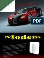 Presentación de Modem, Impresora, Slot y Bluetooth