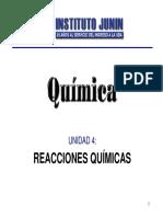 Unidad 4_ Reacciones Químicas
