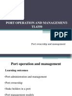 Port Ownership and Management- Final