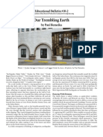 Educational Bulletin 10-2 Our Trembling Earth