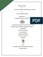 reliance trends project final vishal k.docx