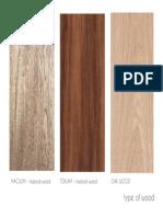 Type of Wood