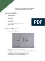 Hydraulic Bench.docx
