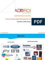 mScience Client Case Study For Eureka Forbes | Adoroi
