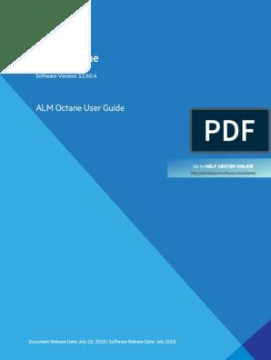 ALM_Octane_User_Guide (1) pdf   Proxy Server   Copyright