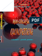 mini-concursuri cronopediene – volumul 1 – poezii, poeme –