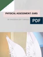 Physical Assessment Ears