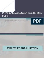 Physical Assessment External Eyes