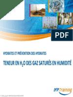 Teneur en H2O Des Gaz Saturés en Humidité_35s