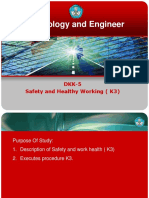 DKK-5 Safety and Healthy Working ( K3)