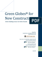 White Paper for an Overview of Green Globes New Construction