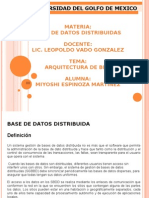 ARQ DE BDD