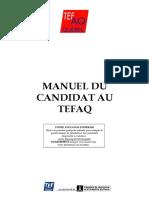 Manuel Du Candidat Au TEFAQ v3