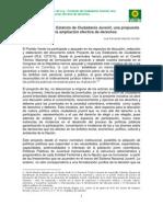 Proyecto de Ley - Estatuto de Ciudadanía Juvenil, una propuesta para la ampliación efectiva de derechos