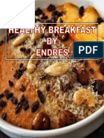 Healthy Breakfast Ideas by Endres