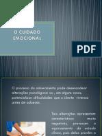 O cuidado emocional