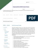 Heat Exchanger Design - Technology Upgradation and Skill Development Company - TUSDEC