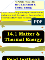 14.1 Matter & Thermal Energy (Press Read Only to Open)