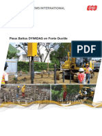 Dsi Pieux Battus Dywidag en Fonte Ductile Fr 1