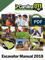 Excavator Manual 2018 Rev.2