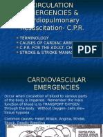Cardiovascular Emergencies, CPR
