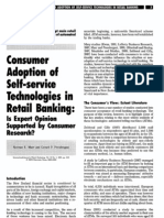 Consumer Adoption of Self-Service Technologies in Retail Banking