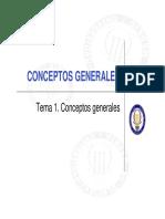 Tema 1. Conceptos Generales