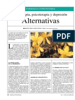 Fitoterapia alternativas