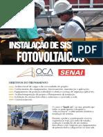 Curso Instalacao de Sistemas Fotovoltaico