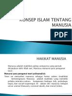 Konsep Islam Tentang Manusia